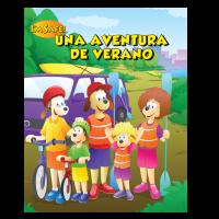 7-1410 Summer Safety Adventure Activity Book - Spanish