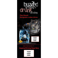 3-8000 Buzzed Driving Info-Pledge Card - NHTSA messaging