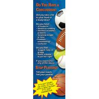 10-4895 Concussion Prevention and Management Bookmark