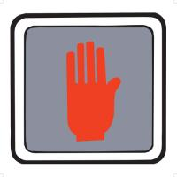 8-4190 Traffic Safety Signs - Front