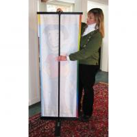 Stand Up Banners Are Easy To Set Up!
