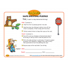 Parent-Child Distracted Driving Pledge (Ages 3-7)