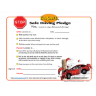 Parent-Child Distracted Driving Pledge (Ages 8-12)