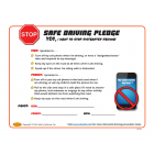Parent-Teen Distracted Driving Pledge