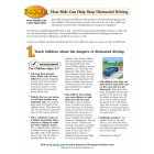 How Kids Can Help Stop Distracted Driving - Talking Points & Activities