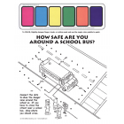 6-1842 School Bus Safety Paint Sheet - English