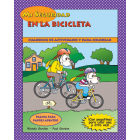 1-3310 I'm Safe! On My Bike Activity Sticker Book - Spanish