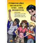 10-3007 Stand Together to Prevent Bullying Poster - English   