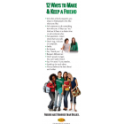 10-3012 &quot;12 Ways to Make a Friend&quot; Bullying Prevention Bookmark     
