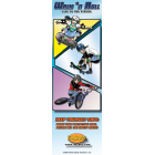 10-4650 Walk 'n Roll Bookmarks - English