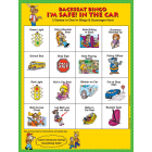 2-4760 I'm Safe! in the Car Head Start Bingo Front