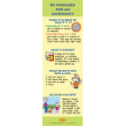 5-4810 Home Safety Bookmark - English