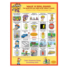 6-3390 I'm Safe! Walk 'n Roll Bingo Game - English