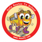 6-3430 Walking School Bus Stickers - English