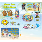7-1580 Water Safety Sticker Sheets    