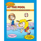 7-3170 I'm Safe! at the Pool Activity Sticker Book  - English