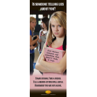 10-3015 Is Someone Telling Lies About You?  Stand Up Banner Display