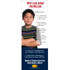 10-3025 Why I Feel Sorry for Bullies Stand Up Banner Display