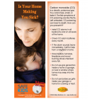 5-3756 Carbon Monoxide Poison Prevention Bookmark