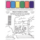 5-4420 Fire Escape Paint Sheet - English