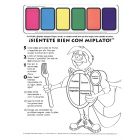 11-4021 MyPlate Paint Sheet - Spanish