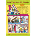 "5-2100 ""Are you Safe at Home? Preschool Classroom Poster"