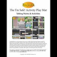 6-3827 I'm Safe! Activity Play Mat Instructions