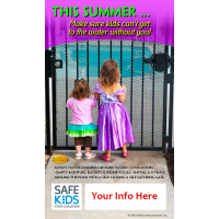 Safe Kids Water Safety Meme - Customizable