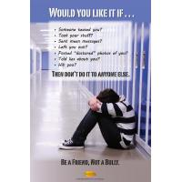 10-3001 Be A Friend Not A Bully Poster - English