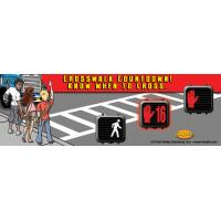 10-4611 Crosswalk Countdown Bookmark Grades 3-6 - English