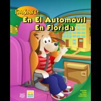 FL2-1173 Spanish Car Safety Activity Coloring Book  - Florida