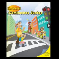 6-3050 I'm Safe! Walk With Me Activity Sticker Book - Spanish