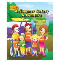 7-1400 Summer Safety Adventure Activity Book - English
