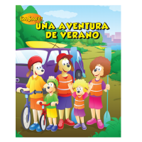 7-1410 Summer Safety Adventure Activity Book - Spanish