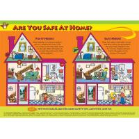 5-1710 Are You Safe at Home? Poster - English