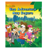 8-1740 I'm Safe! Safe Smart Adventure Activity Book - Spanish