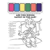 2-1800 I'm Safe! in the Car Paint Sheet