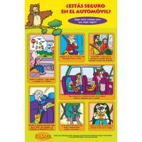 2-2690 ¿Estás seguro en el automóvil? Poster - Spanish