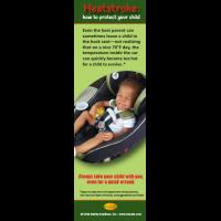 2-3024 Heatstroke Prevention Bookmark