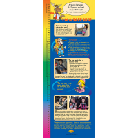 2-3785-1 4 Steps Car Seat Graduation Banner Display