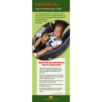 2-3894 Heatstroke Prevention Stand Up Banner