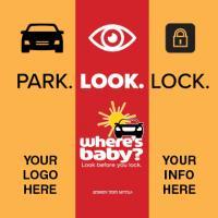 2-5123 Heatstroke Park. Look. Lock. Cling