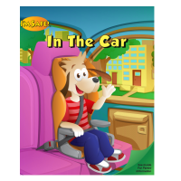 2-1172 I'm Safe! in the Car Activity Coloring Book