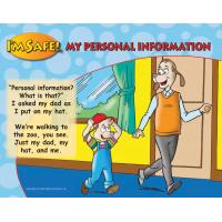 4-1521 My Personal Information / If I Get Lost Large Format Storybook - English