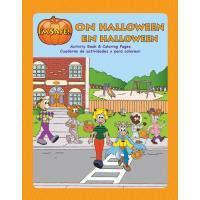 6-4052 I'm Safe! on Halloween Activity Book - Bilingual