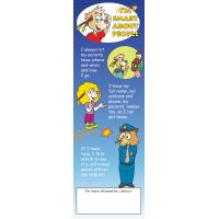 4-4830 Personal Safety Bookmark - English