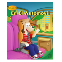 Car Safety Activity Coloring Book Spanish Edition