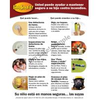 5-5021 Parent Tip Sheet - Fire and Burn Safety - Spanish