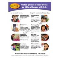 4-5031 Parent Tip Sheet - Calling 9-1-1 - Spanish