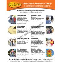 6-5036 Parent Tip Sheet - Pedestrian Safety - Spanish